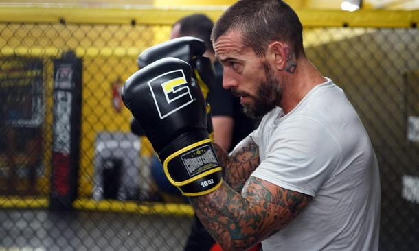 Many think CM Punk will fail in the UFC, but for trying something completely the man should be applauded / MMAJunkie.com