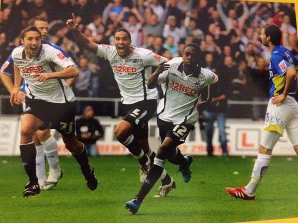 El Swansea marcó, un antes y un después, en la carrera de Fede Bessone. Foto: @FedeBessone