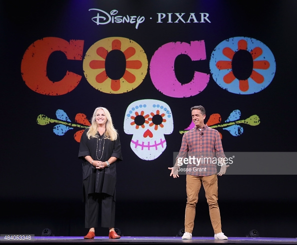 Pixar announce Coco. Photo- Getty Images/