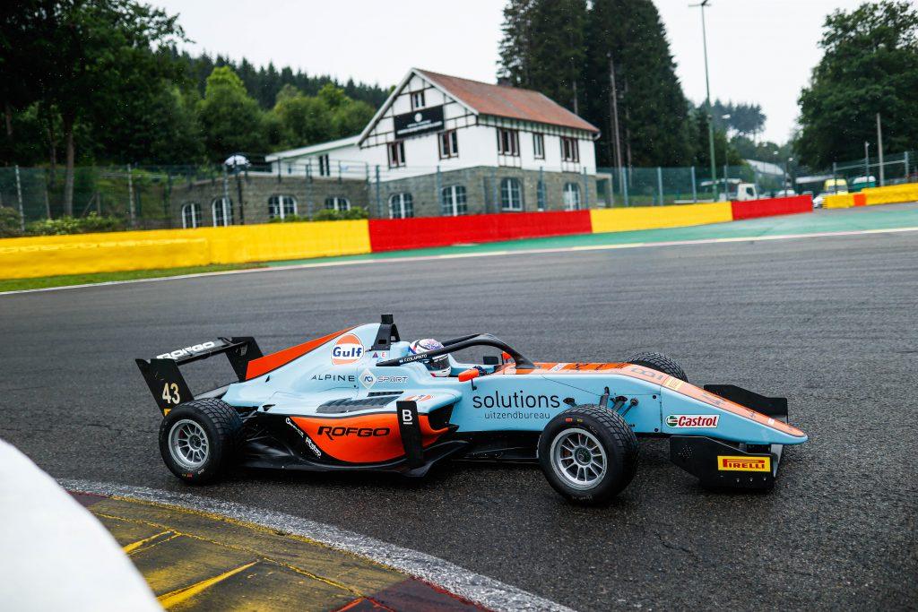 Franco Colapinto en el monoplaza de MP Motorsport: Foto Formula Regional
