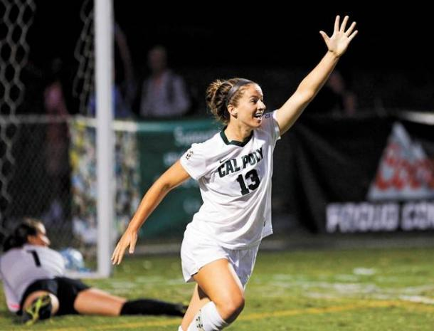 Can newly signed striker Elise Krieghoff be the remedy for the Boston Breakers goal drought. Photo provided by Joe Johnston-The Tribune.