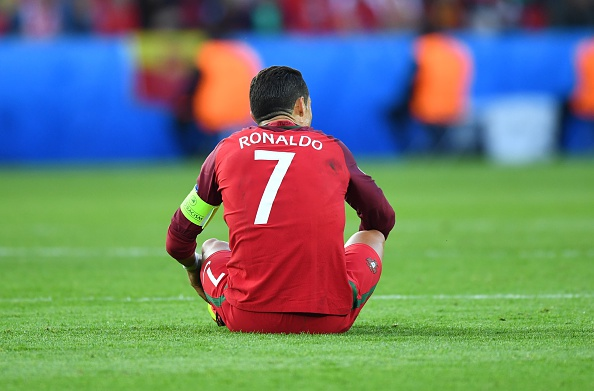 It was an evening to forget for Portugal's star man. | Image credit: Mustafa Yalcin/Anadolu Agency/Getty Images