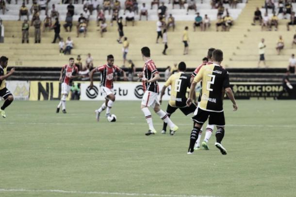 Criciúma venceu em casa no primeiro encontro em 2016: 2 a 1 (Foto: Divulgação/Joinville EC)