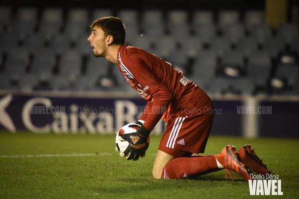 Cristian Rivero, jugador del Valencia Mestalla. FOTO: Noelia Déniz