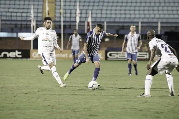 Equipes ficaram no 0 a 0 no primeiro turno, em Florianópolis (Foto: Frederico Tadeu/Avaí FC)