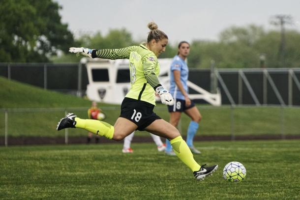 Stanley made most of her career starts with Sky Blue FC | Source: Trey Madara-Brotherly Game