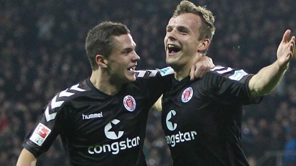 Noche gloriosa con St. Pauli, cuatro goles en un encuentro | Foto: @Bundesliga_DE