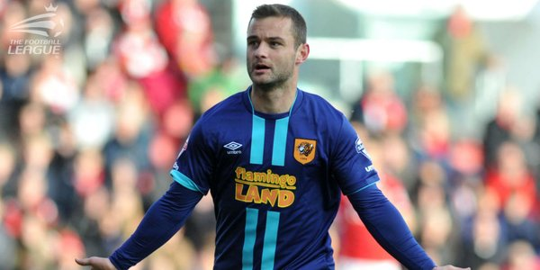 Shaun Maloney was Hull's star player on a disappointing night for City. (Image credit: The Football League)