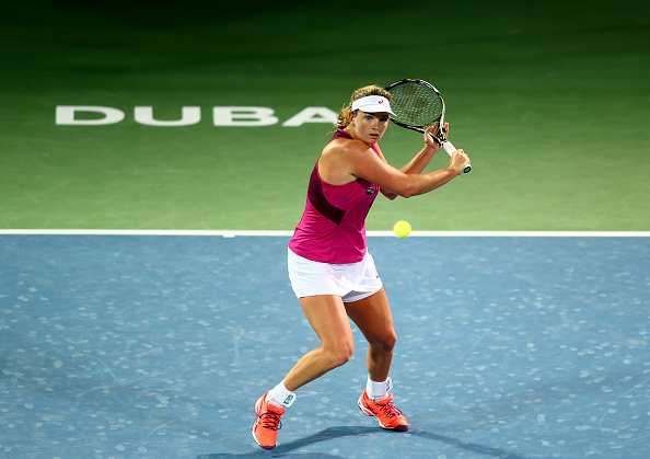 Vandeweghe in action in Dubai (Getty Images/Francois Nel)