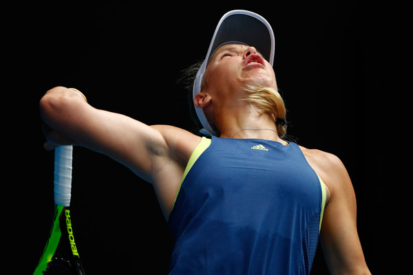 Photo: Michael Dodge/Getty Images AsiaPac-Caroline Wozniacki served brilliantly the entire match.