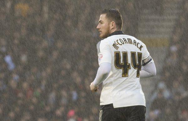 McCormack en un encuentro con el Fulham. Foto: Fulham