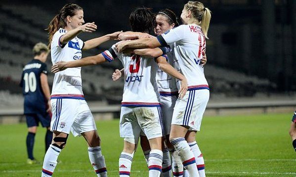 Lyon have ran riot all season, and will be expected to do so once more this weekend. | Photo: Olympique Lyonnais Feminine