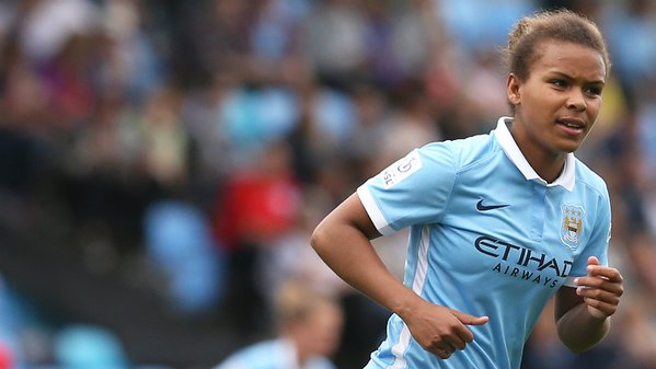 Parris' contributions helped City to a second-placed finish in 2015. (Photo: MCWFC)