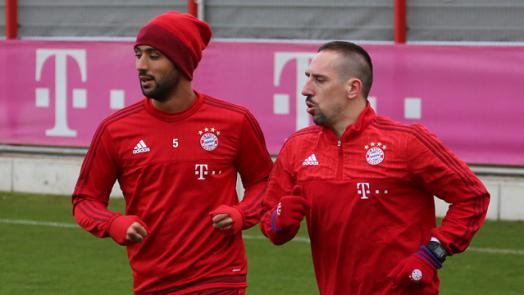 Ribéry parece que volverá más pronto de lo esperado. // (Foto de fcbayern.de)