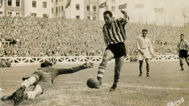 Telmo Zarra, uno de los goleadores de España en el Mundial del 50 | Foto: @FIFAcom