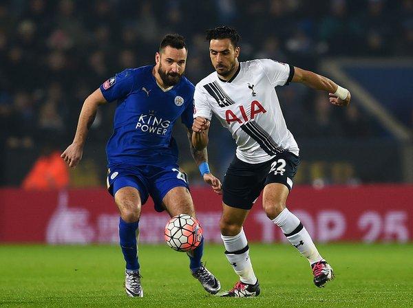 Chadli disputó un gran encuentro, y anotó el segundo gol del partido. Foto: Tottenham Hotspur