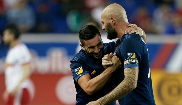 Romain Alessandrini continues to be a shrewd signing for the Galaxy | Source: Noah K. Murray - USA TODAY Sports