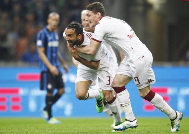 Inter Torino 2-1, Lapresse