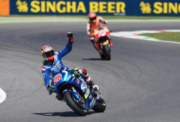 Maverick Vinales, splendido secondo in qualifica. Fonte: sportmediaset.it