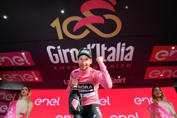 Giro di Italia 2017 prima tappa Alghero: Postbelerger è maglia rosa