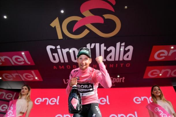 Giro: Poestlberger prima maglia rosa