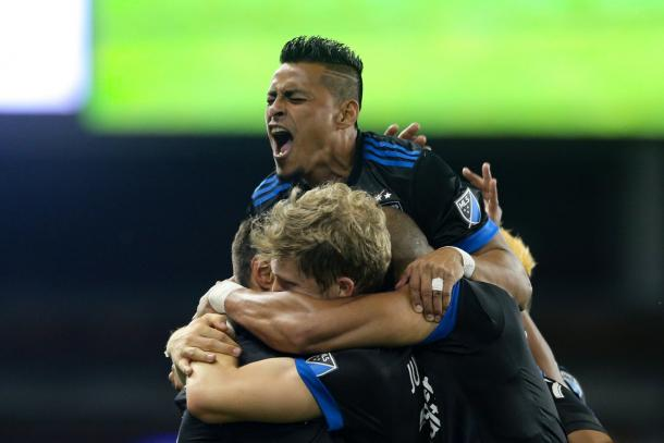 The Earthquakes were too much for the Timbers this week   Source: John Hefti-USA TODAY Sports