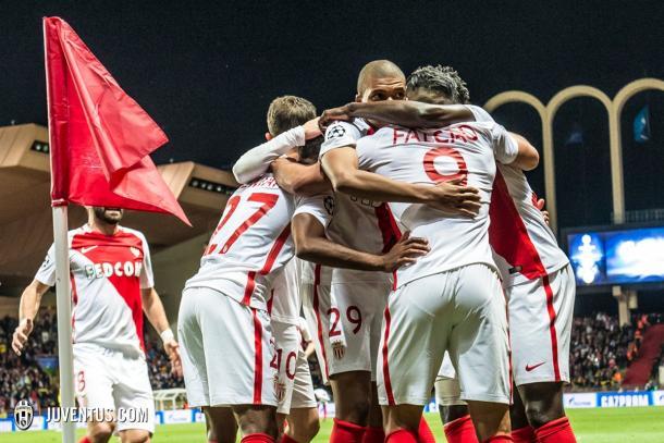 Il Monaco ha l'attacco che ha segnato più reti in Europa durante questa stagione. Foto: Twitter
