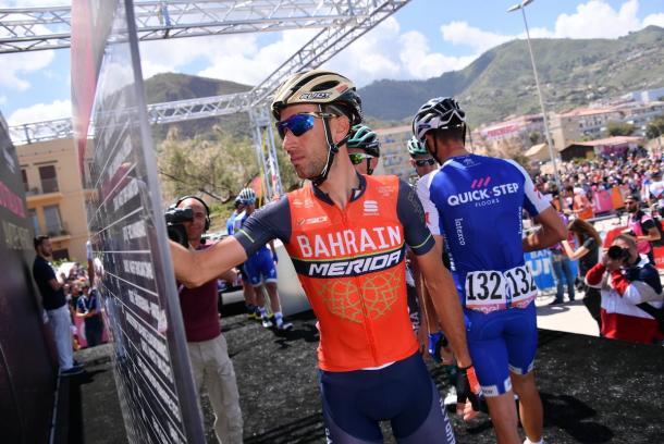 Nibali - Giro d'Italia/Twitter