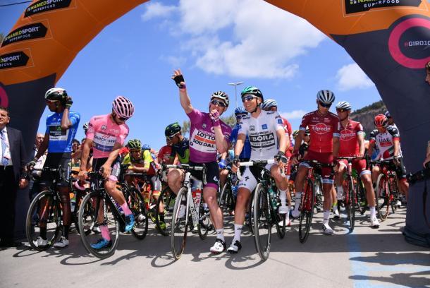 Giro d'Italia/Twitter
