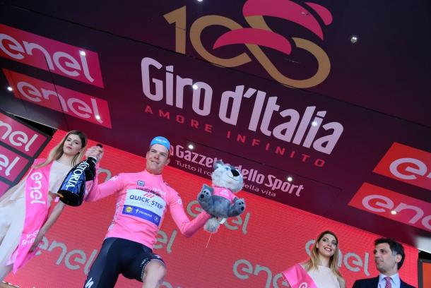Giro 2017, a Gaviria la 5^ tappa. Jungels in rosa