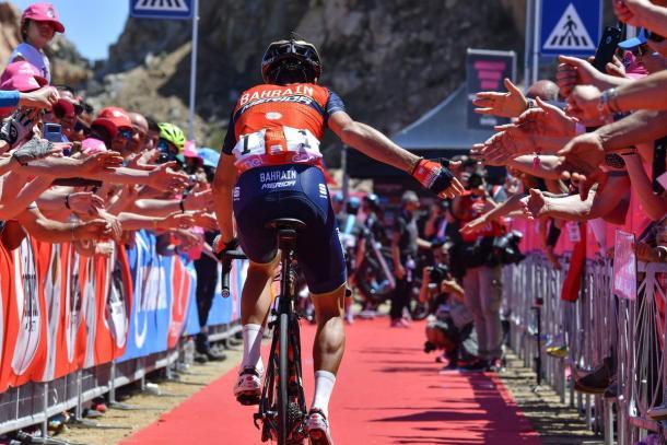Nibali infiamma la tappa di Bergamo, Jungels la vince