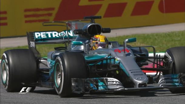 Raikkonen, colpito da Mercedes Bottas