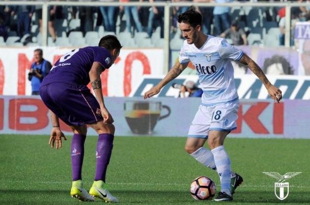 Imagen del último encuentro entre Lazio y Fiorentina | Foto: SS Lazio