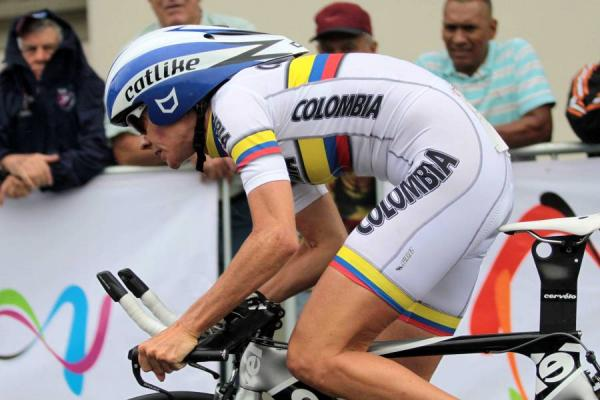 Calle is decorated Columbian rider, but the ban spells the end / Van Guardia