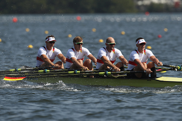 The German team narrowly missed out on making the final (Getty/Cameron Spencer)