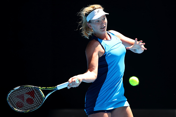 Coco Vandeweghe will look to attack as much as possible as she aims to make her first Grand Slam final (Getty/Cameron Spencer)