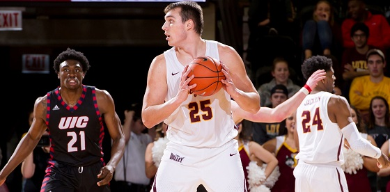 Krutwig is the missing piece for Loyola, able to do anything the Ramblers need/Photo: Steve Woltmann/Getty Images