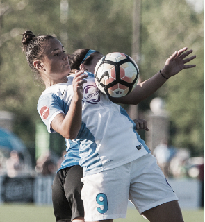 Camila controlled the Pride midfield and tallied their second goal (Source: Getty - Icon Sportswire)