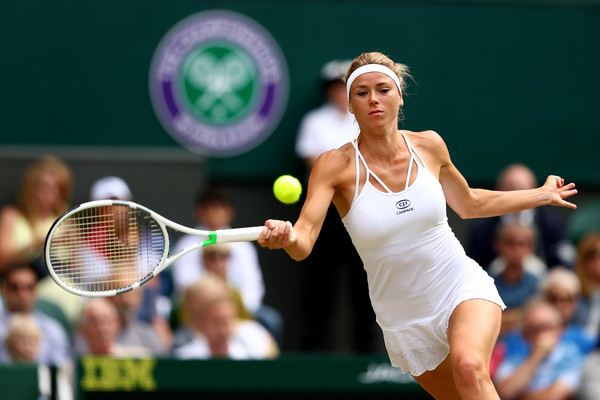 Camila Giorgi was halfway from completing the huge upset but failed to finish the job | Photo: Michael Steele/Getty Images Europe