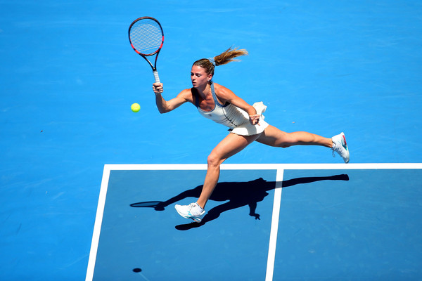 Camila Giorgi at the Australian Open last year | Photo: Quinn Rooney/Getty Images AsiaPac