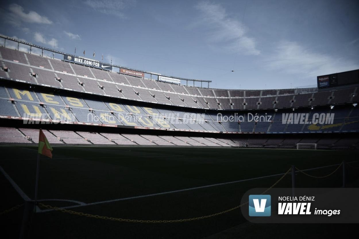 El Camp Nou, sin público | Foto: Noelia Déniz - VAVEL