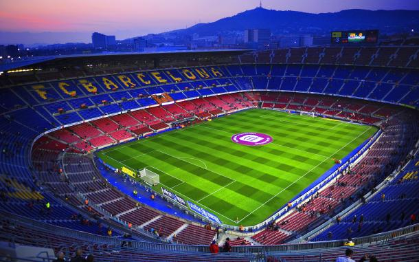Fotografia del estadio del F.C.Barcelona: El Camp Nou / hotelmadanis.com