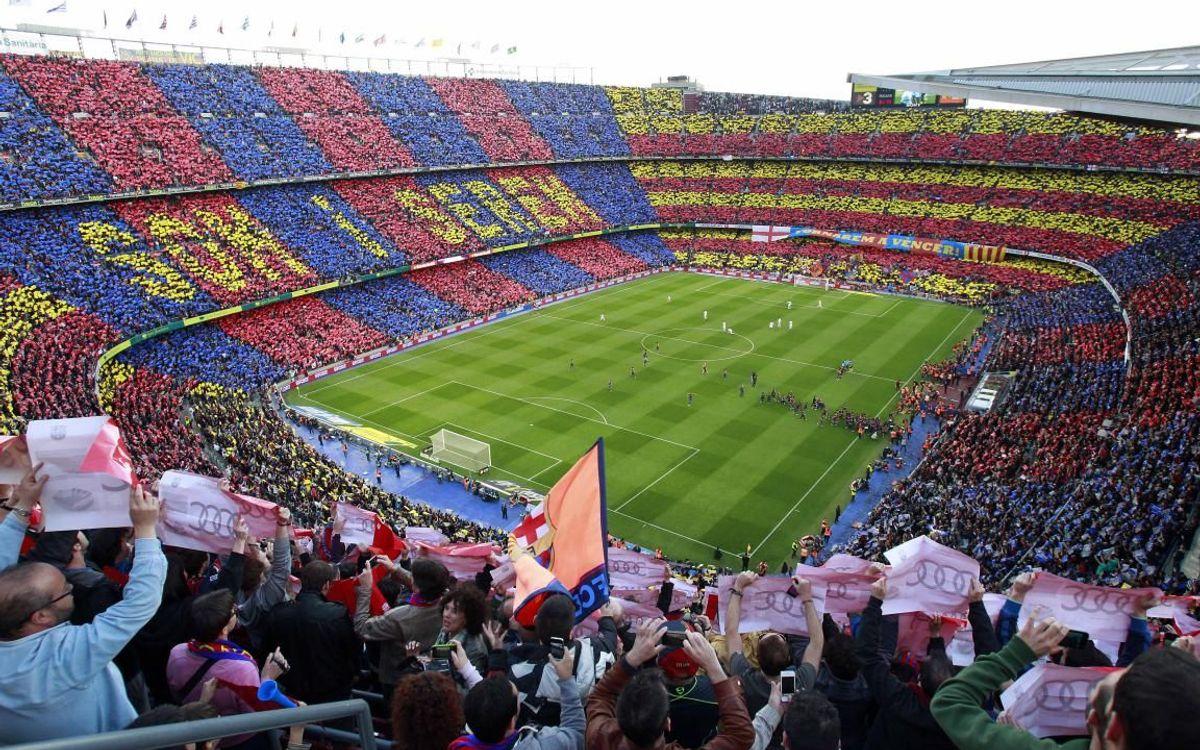 El Camp Nou. | Foto: Noelia Déniz