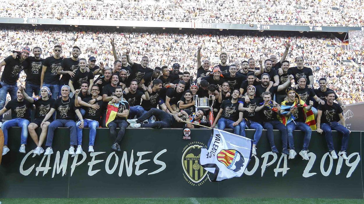 Último campeón de Copa del Rey | Foto: Valencia CF