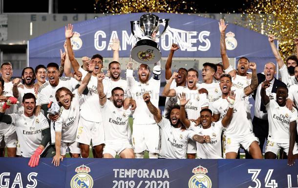Campeones. Foto: Real Madrid