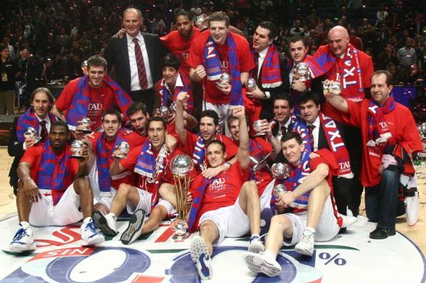 Baskonia ganó su sexta Copa del Rey ACB en 2009. | Foto: ACB