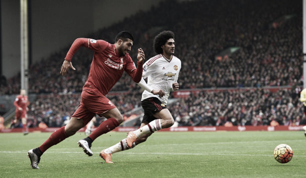 Can en un partido ante el Manchester United. Foto: Getty Images.