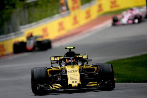 Sainz durante el Gran Premio de Canadá | Fuente Getty Images