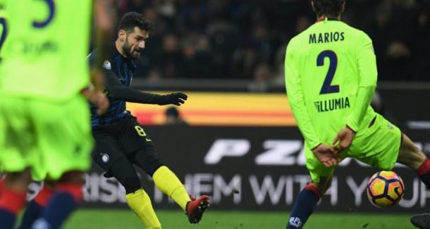 Il gol del 3-2 di Candreva | Contrataque.it