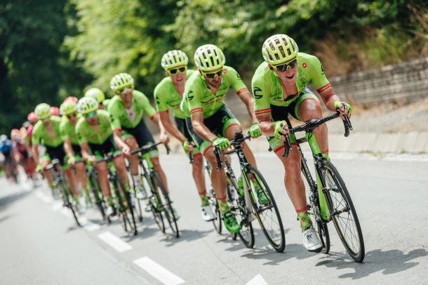 Cannondale-Drapac busca consagrar a Rigoberto Urán en el Tour de Francia   FOTO: Cannondale-Drapac